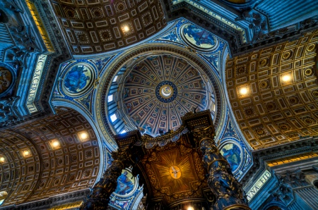 rome, st.peter´s cathedral, cupola (franz jachim)